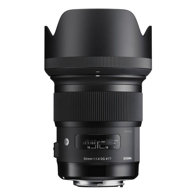 Sigma 50mm F1,4 DG HSM Art Canon - Sigma Schweiz Partner - CH Produkt