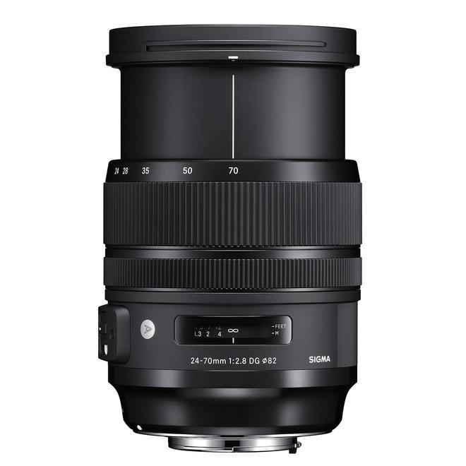 Sigma 24-70mm 2.8 DG HSM Art Canon - Sigma Schweiz Partner - CH Produkt