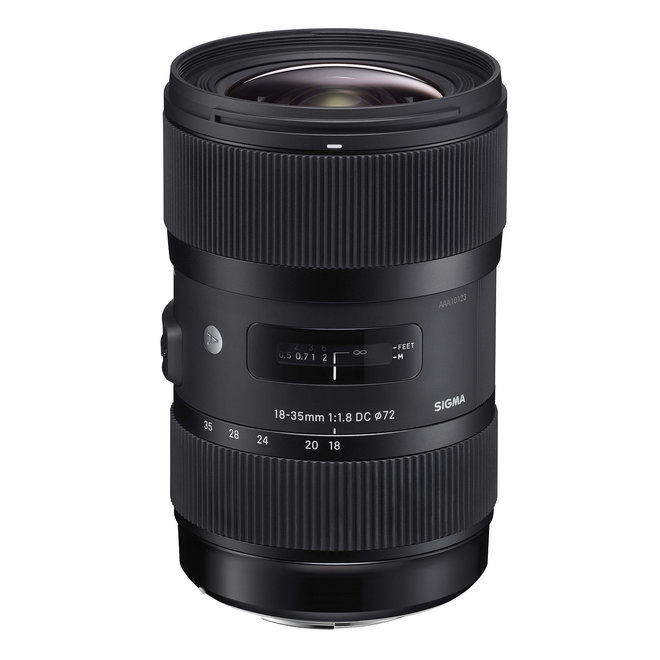 Sigma 18-35 mm F1.8 DC HSM Art Canon