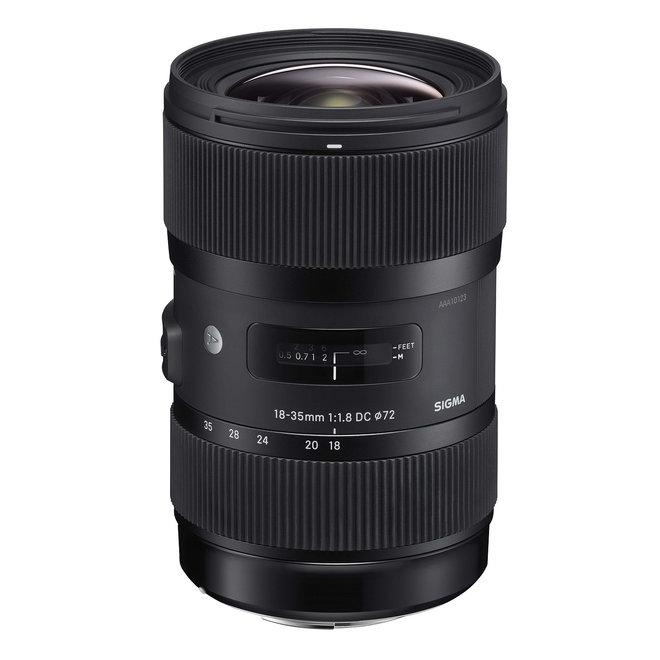 Sigma 18-35 mm F1,8 DC HSM Art Nikon - Sigma Schweiz Partner - CH Produkt