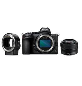 Nikon Nikon Z5 Kit 24–50 mm 1:4–6,3 VR DX+FTZ Adapter - Nikon Pro Partner