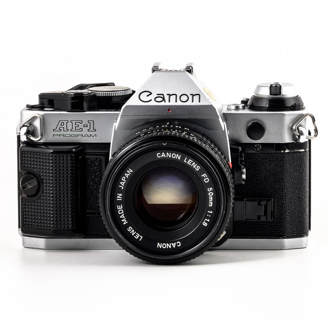 Occ Canon AE-1 Program  1,8 / 50 MF