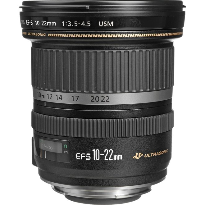 Canon EF-S 10-22mm 3.5-4.5 USM - Canon Schweiz Partner - CH Produkt