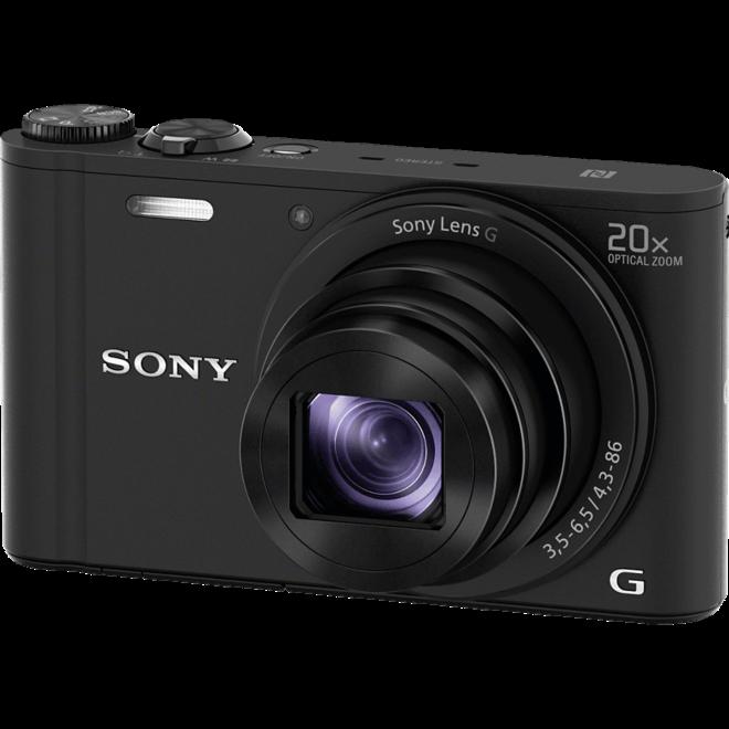 Sony DSC-WX350 Cybershot Black - Sony Schweiz Partner - CH Produkt