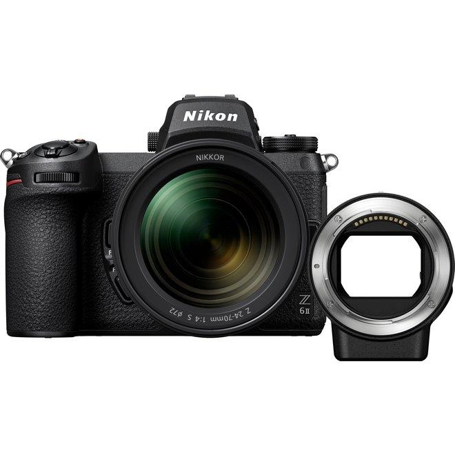 Nikon Z6ii KIT Z 24-70mm F4.0 FTZ (+200 CHF Rabatt Trade-In) - Nikon Pro Partner