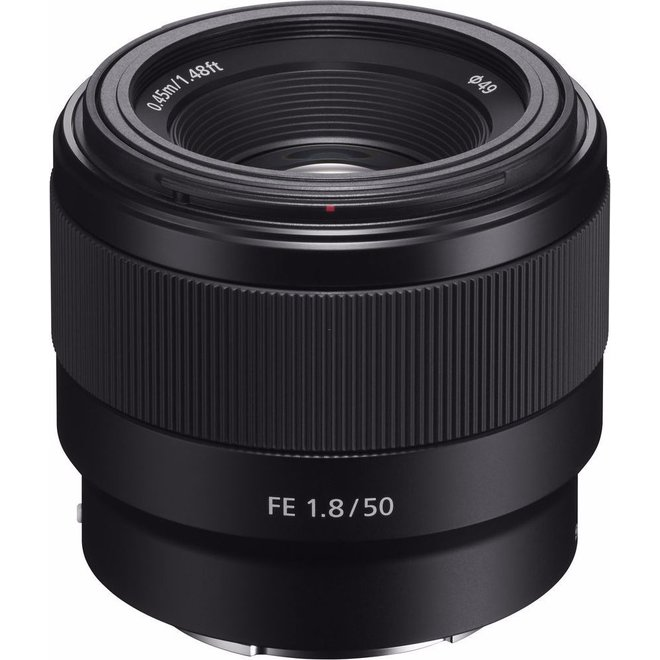 Sony E-Mount FF 50mm F1.8 - Sony Schweiz Partner - CH Produkt