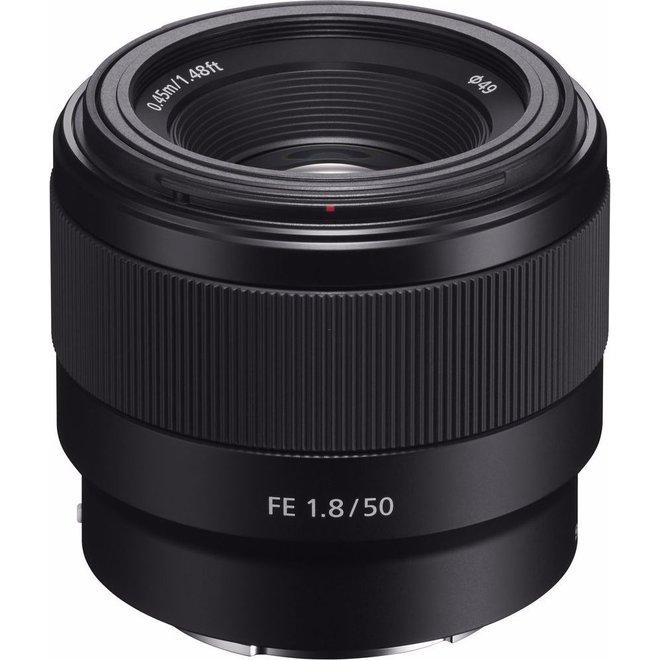 Sony E-Mount FF 50mm F1.8