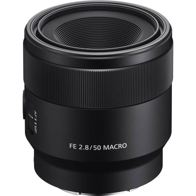 Sony E-Mount FF 50mm F2.8 Makro - Sony Schweiz Partner - CH Produkt