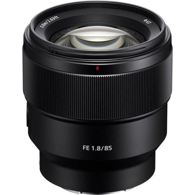Sony E-Mount FF 85mm F1.8 - Sony Schweiz Partner - CH Produkt
