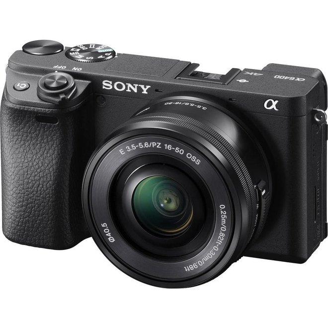 Sony Alpha 6400 Set 16-50mm P Black
