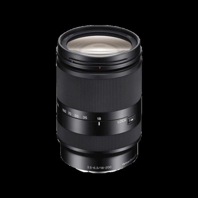 Sony E-Mount APS-C 18-200mm OSS F3.5-6.3