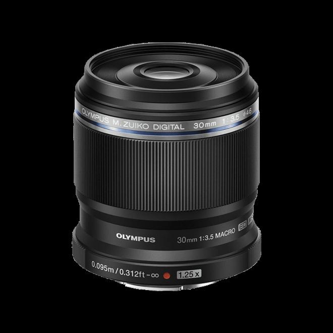 Olympus m.Zuiko 30mm F3.5 Macro Black - CH Produkt