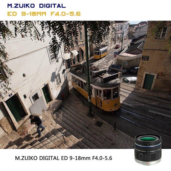 Olympus M.Zuiko Digital ED 9-18mm black - CH Produkt