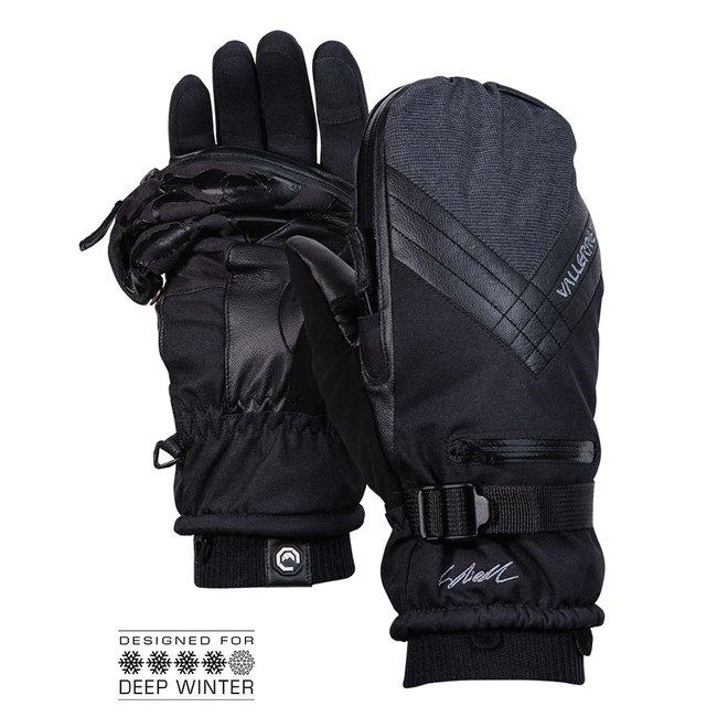 Vallerret Skadi Zipper Mitt Photo Glove Black Size M
