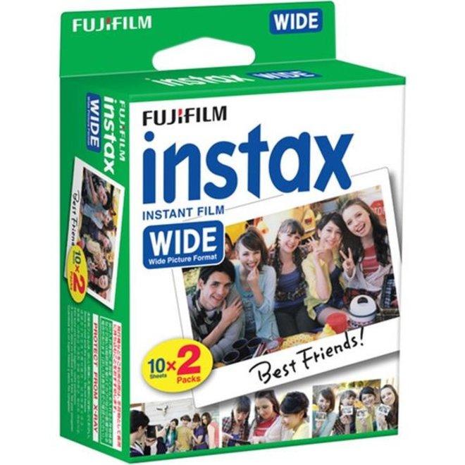 Fujifilm Instax Wide 2x10 Photos Color