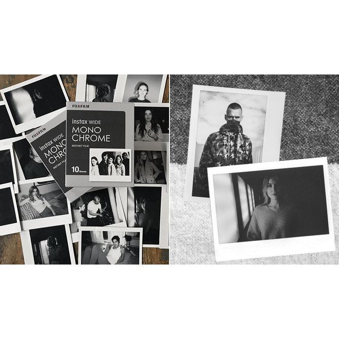 Fujifilm Instax Wide Monochrome 10 Blatt