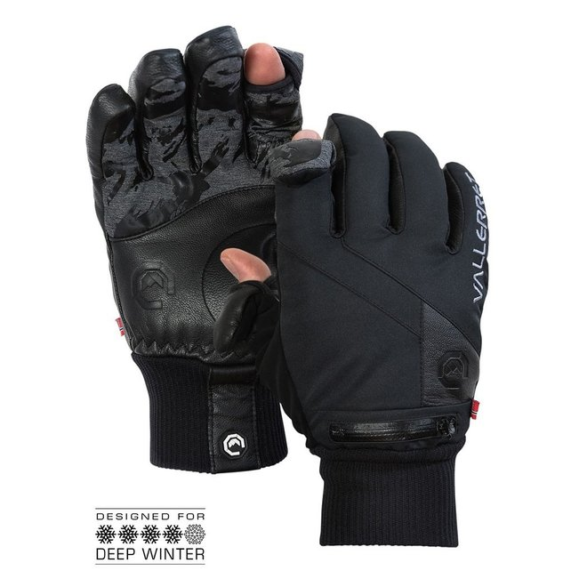 Vallerret Ipsoot Photo Glove Black Size XL