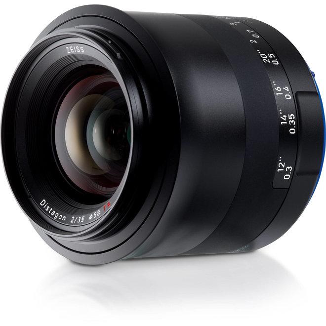 Zeiss Milvus 35mm f2 ZE-mount Canon