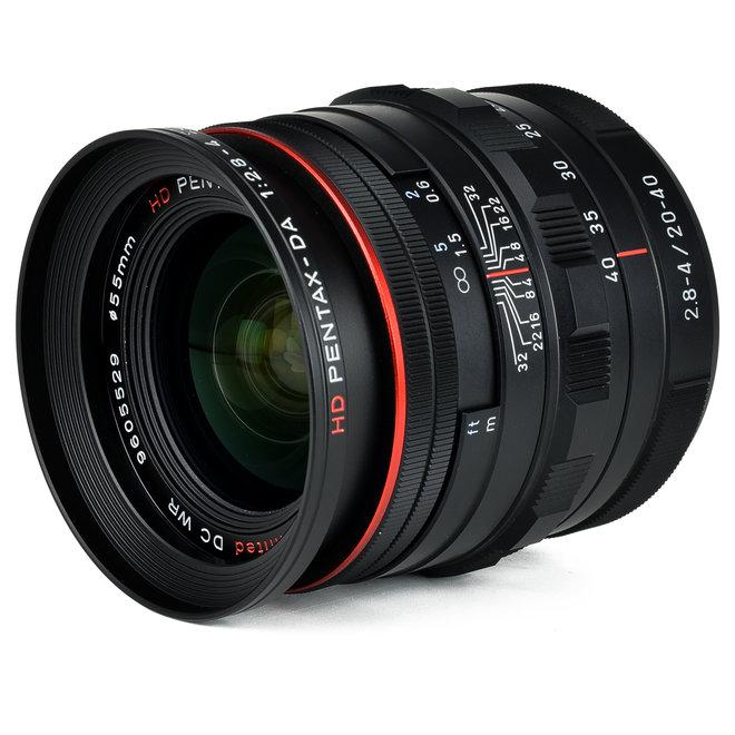 Pentax HD DA 20-40mm f2.8-4 ED Limited DC WR schwarz