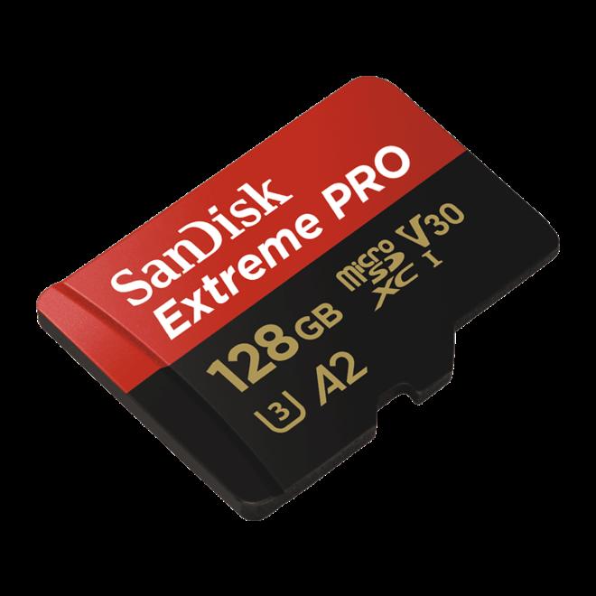 SanDisk ExtremePro microSD 170MBs 128GB