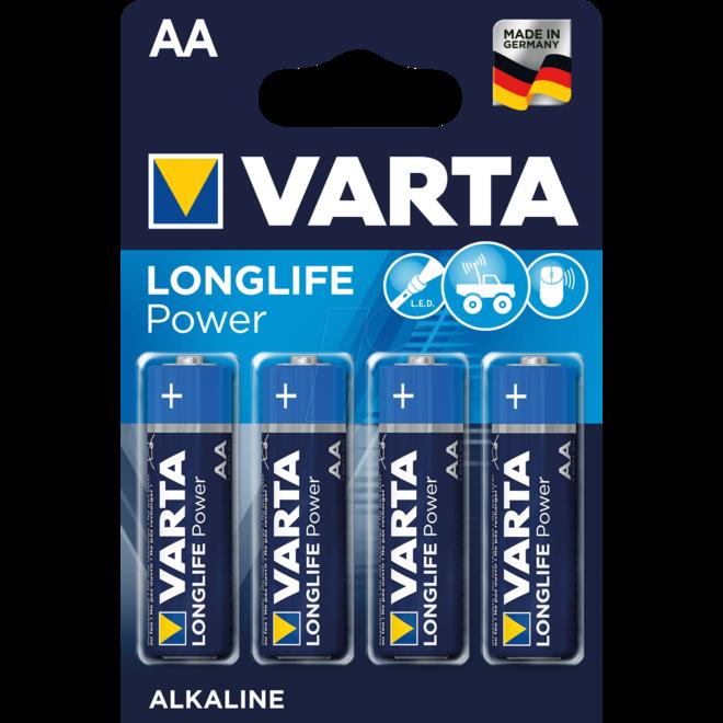 Varta AA LR6 Alkaline Mignon 4er
