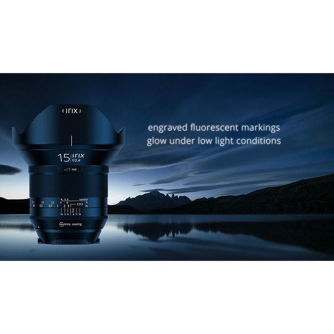 Irix 15mm f2.4 Blackstone Nikon FX