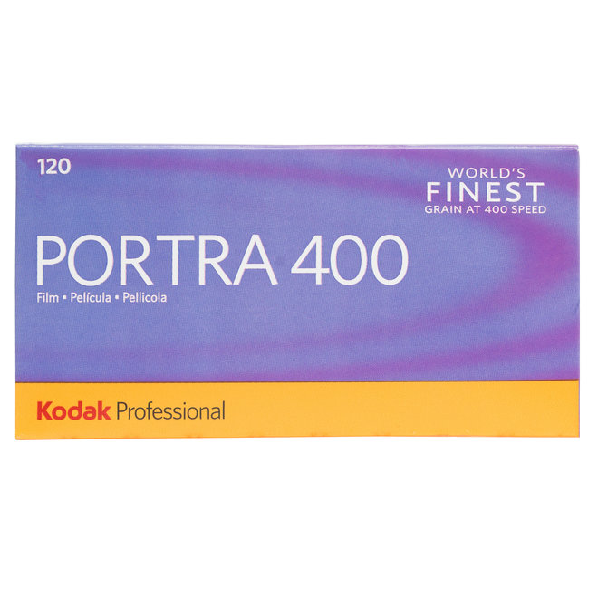 Kodak Portra 400 120 single