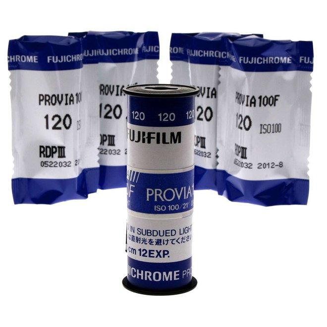 Fujifilm PROVIA 100F 120 5-Pack