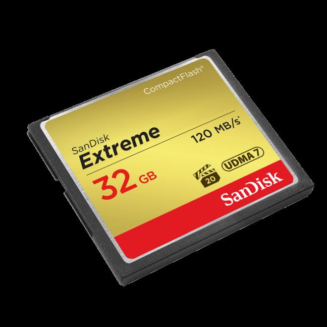 Sandisk Extreme 120MBs CF 32GB