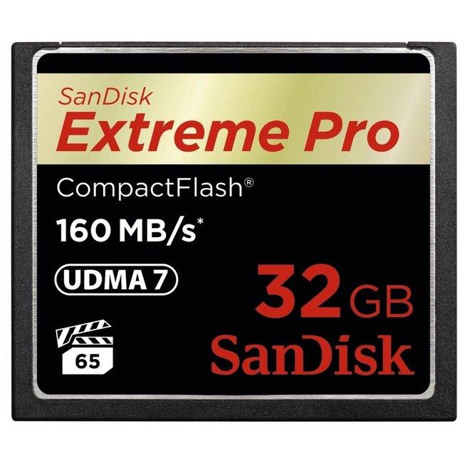 CF Extreme Pro 32 GB 160 MBs