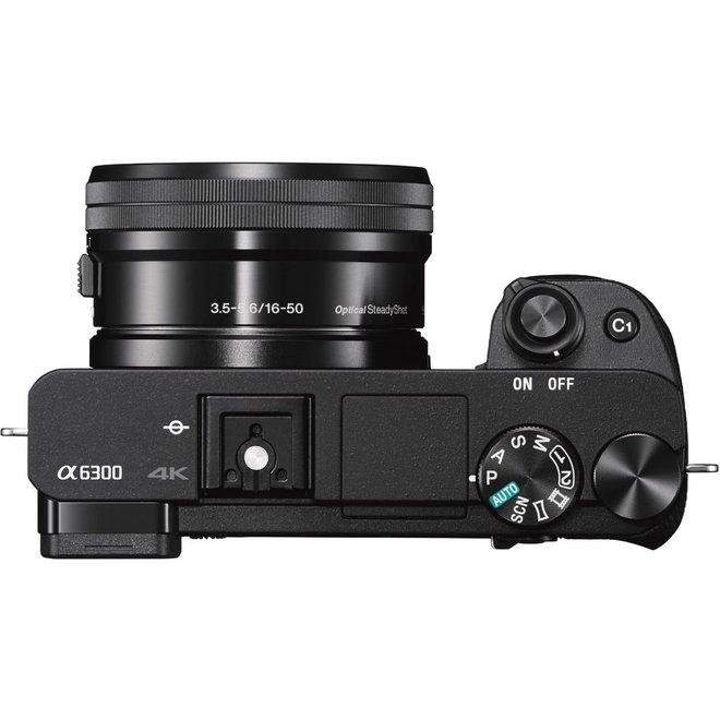 Sony Alpha 6300 Set 16-50mm f3.5-5.6 OSS