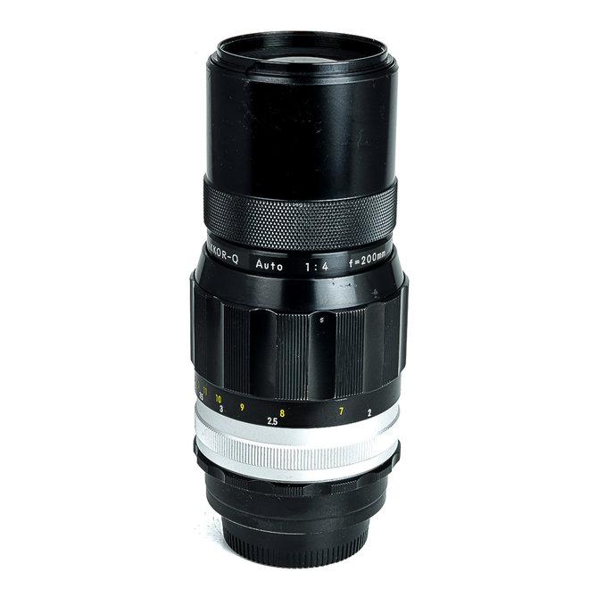 Occ Nikon NIKKOR-Q 200mm f4.0 Non-Ai MF