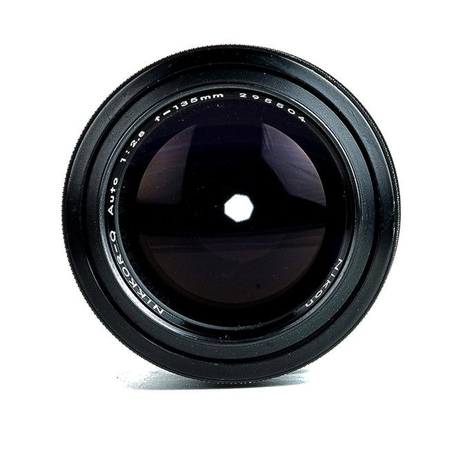 Occ Nikon NIKKOR-Q 135mm f2.8 Non-Ai MF