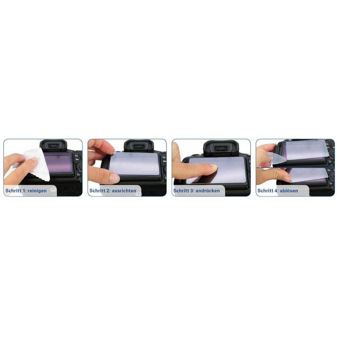 MAS LCD Schutzglas für Panasonic GH5 Canon EOS R