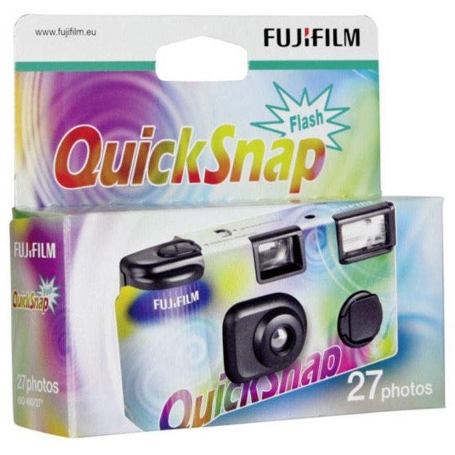 Fujifilm QuickSnap Flash 400 ASA 24+3 Einwegkamera