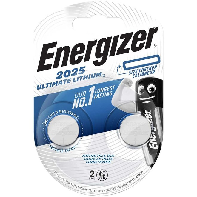 Energizer Ultimate Lithium CR 2025 2 St.