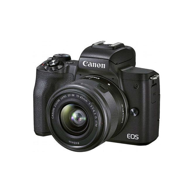 Canon EOS M50 Mark II + EF-M 15-45mm Black