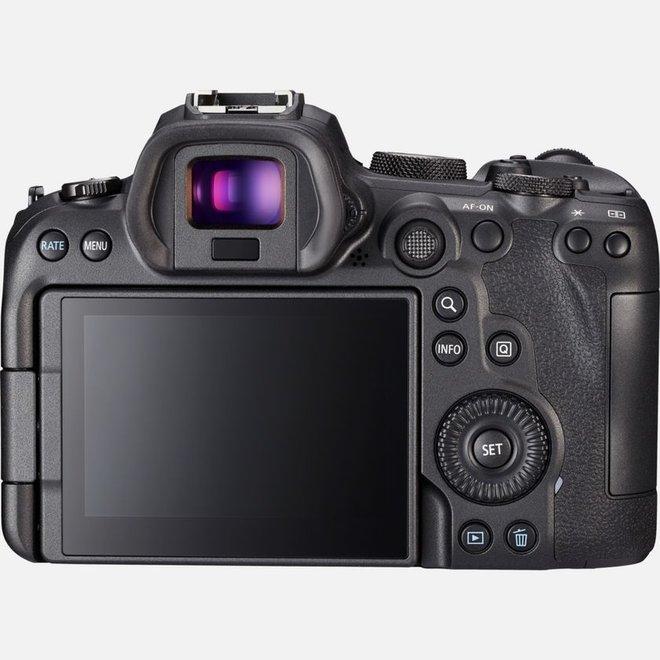 Canon EOS R6 + RF 24-105mm f4.0 + EF-EOS R Adapter Standard