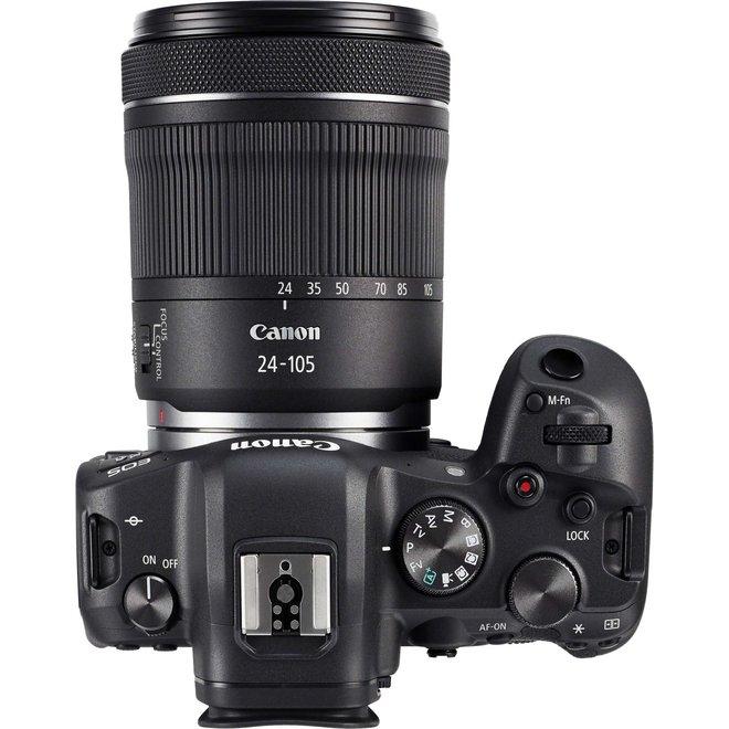 Canon EOS R6 + RF 24-105 f4-7.1 IS + EF-EOS R Adapter Standard