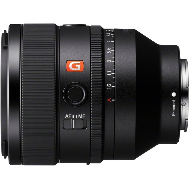 Sony E-Mount FF 50mm F1.2 GM