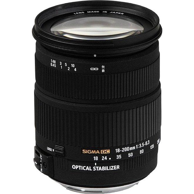 Occ Canon EOS 700D + Sigma 18-200