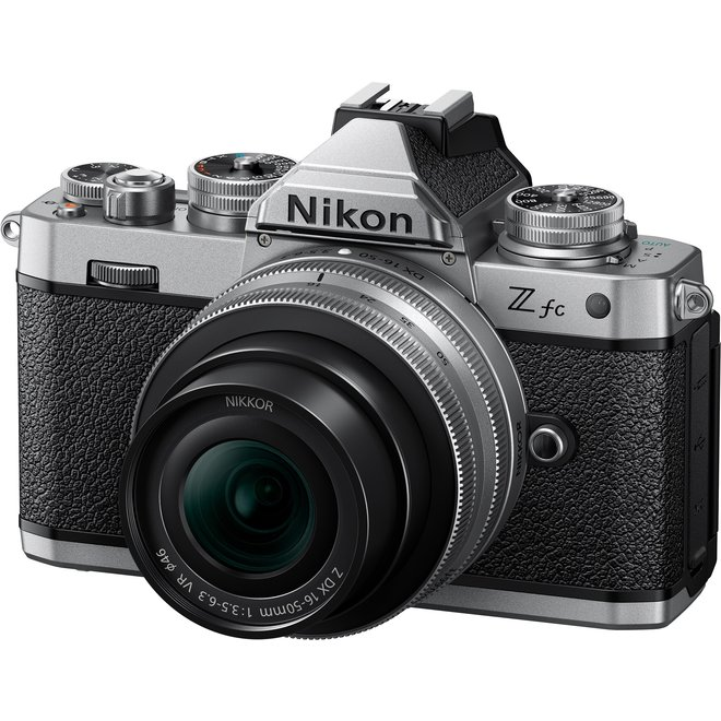Nikon Z fc + 16–50 VR (Silver Edition)