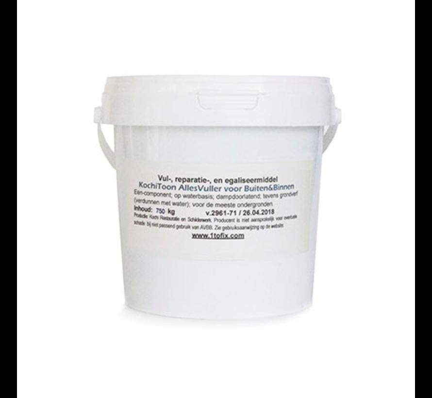 1tofill Lichtgewicht Vulmiddel-Lijm-Kit-Stopverf-ineen