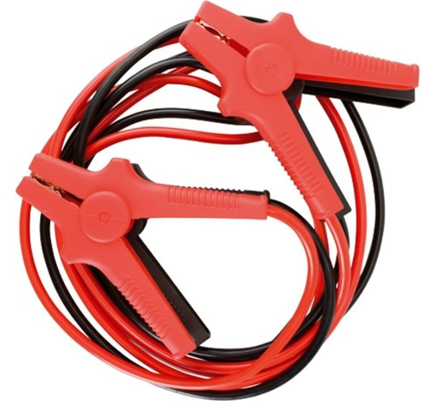 2x Jumpstart auto cables - 3 meters - 16mm - 220A