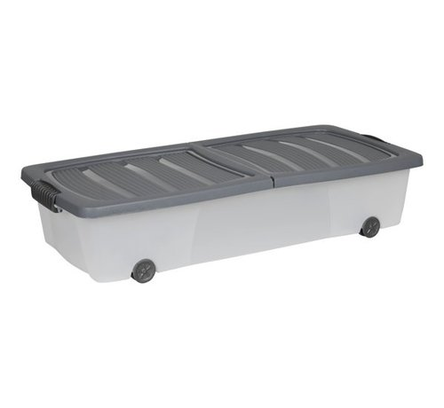 Discountershop Storage box - under bed box - Under bed box 32 liters - 78 cm x 36 cm x17 cm high- Available In Different Colors