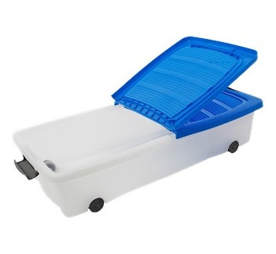Storage box - under bed box - Under bed box 32 liters - 78 cm x 36 cm x17 cm high- Available In Different Colors