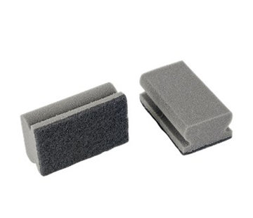 Discountershop Barbecue - Grill cleaner sponge - Sponges - 2 pieces - Value pack