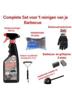 Discountershop Barbecue cleaning set