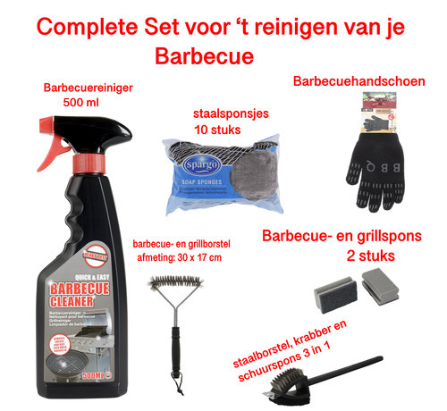 Discountershop barbecue cleaning - barbecue brush - barbecue sponge - barbecue steel sponges - BBQ brush - BBQ cleaning - BBQ accessory - cleaning BBQ grate