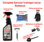 barbecue cleaning - barbecue brush - barbecue sponge - barbecue steel sponges - BBQ brush - BBQ cleaning - BBQ accessory - cleaning BBQ grate